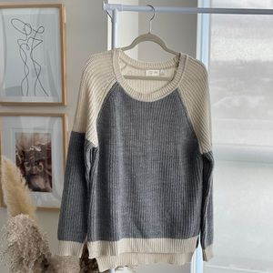 RD Style grey sweater